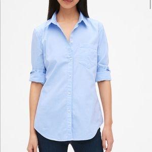 🆕{GAP} Fitted Boyfriend Shirt